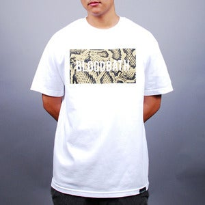 Image of Boxed Python Tee (White)