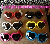 Image of Kitty Heart Sunnies