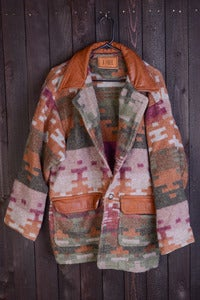 Image of Indian Blanket Long Jacket