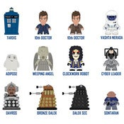 Image of Doctor Who Series 2 Vinyl Figures Case of 20 by Lunartik - Pre Order