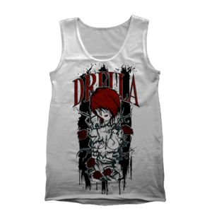 Image of Jolene White Tank Top **FINAL PRINT!**