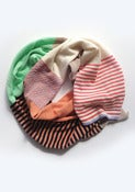 Image of MULTI-STRIPE MINT Scarf