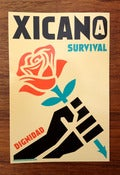 Image of Xican@ Survival Sticker