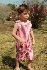 Image of Classic Boy's Romper sewing pattern