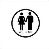 "Image of Sello de caucho ""You + Me"""