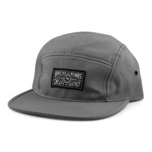 Image of Union Camp Hat Grey