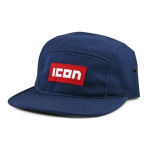 Image of Icon Logo Camp Hat Navy