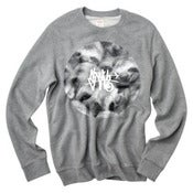Image of SLOTH Life Tag Grey Crew Neck Jumper
