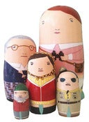 Image of Suzy's Moonrise Kingdom Nesting Dolls