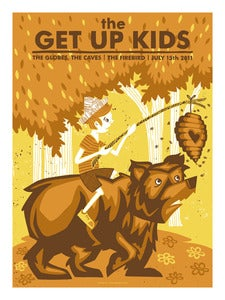 Image of The Get Up Kids Gigposter