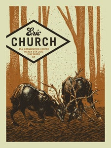 Image of Eric Church Gigposter Jonesboro