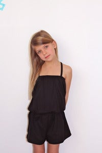 Image of TUSS Demi jumpsuit black