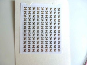 Image of Louis Vuitton Nail Stickers