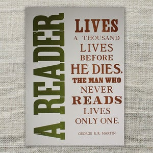 Image of A Reader Lives a Thousand Lives