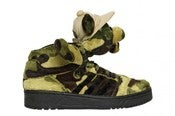 Image of Adidas Jeremy Scott Teddy Bear (Camo)