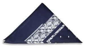 Image of Kente Bandana | navy