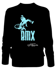 Image of LG BMX Jumper Black/Blue