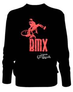 Image of LG BMX Jumper Black/Red