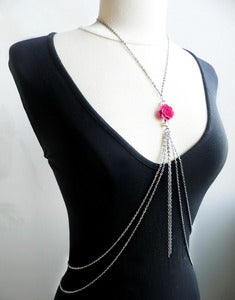 Image of Violet Rose Body Chain
