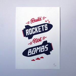 Image of Rockets Art Print