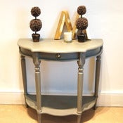 Image of Painted Console Table