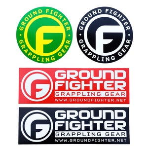 Image of Ground Fighter Sticker Pack