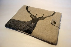 Image of Red Deer Stag Ipad sleeve