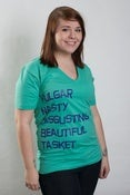 Image of Vulgar/Beautiful V-Neck