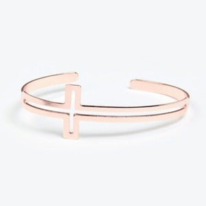 Image of Cross Cutout Cuff