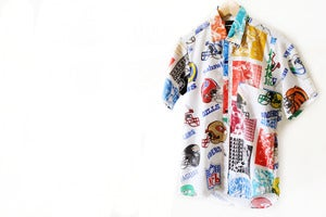 Image of CUSTOM NFL BUTTON UP