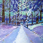 Image of Snowy Woods #2