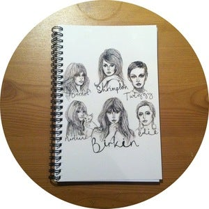 Image of 60s Dream Babes Notebook