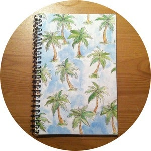 Image of Palm Tree Notebook