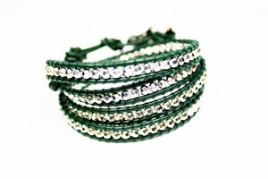 Image of NEW IN! FOREST Leather Wrap