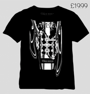 Image of [LIMITED 49] VOGUE WITCH SHIRT EDITION BLACK SPRING - (C) ATEM II