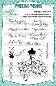 Image of Wedding Wishes (4x6) ~ Peachy