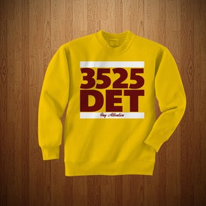 "Image of 3525 ""DET"" EDITION CREWNECK"