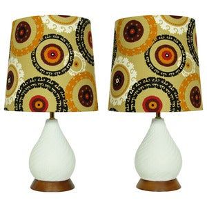 Image of The Finley Twins - Restyled vintage Table Lamps