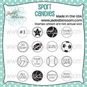 Image of Sport Candies (4x4) ~ Peachy