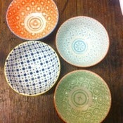 Image of Set of 4 Mix & Match Small Bowls