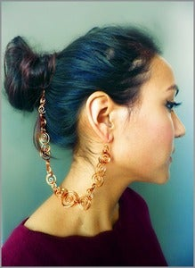 Image of CURLS HairClip-Earring