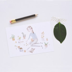 Image of Plant Love Postcard Set