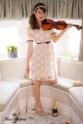 Image of Miss Honey Dress (white lace)