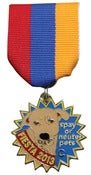 Image of Fiesta 2013 Dog Medal