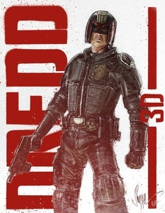 Image of DREDD - Limited Edition Print