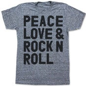 Image of PEACE LOVE &amp; ROCK N ROLL
