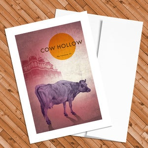Image of Cow Hollow - 5x7 Postcard