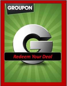 Image of REDEEM Your GROUPON
