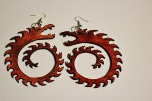Image of Dragon Slayer Statement Earrings