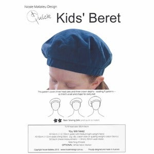 Image of You Sew Girl - Kids Beret Pattern
